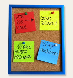 Chalk, Cork and Dry Erase Foam Boards | Picture and Frame
